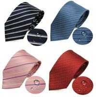 Pure zijden stropdas nano waterdichte stropdas 145 * 9 cm 26 kleuren streep stropdas hoge kwaliteit leisure arrow heren stropdas gratis Fedex TNT