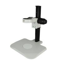ZJ-601 76 millimetri Fine Focus cingolati basamento del microscopio basamento / regolazione fine 76 millimetri guida microscopio Holder / su colonna e giù ZJ regolazione