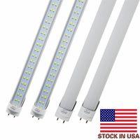 LED-lampen buizen 4 feet ft 4ft led buis 18 w 25w t8 fluorescerend licht 6500K koud wit fabriek groothandel hoge helderheid, energiebesparing
