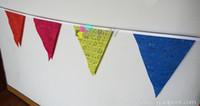 25pcs Individueller Druck Flagge Bunting, Kleine Flagge, Mannschafts-Flagge mit freiem Verschiffen