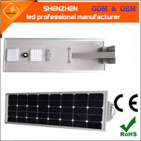 New arrivals 6W- 80W PIR motion sensor stand alone led solar ...