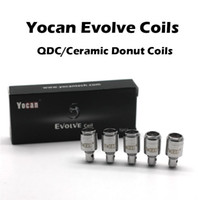 Authentic Yocan Evolve Coils Quartz Dual Coils QDC & Ceramic...