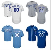 Personalized Men' s Kansas City Royals Custom Jerseys Hi...