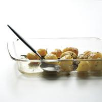 Оптово-Прямоугольник для выпечки Сковороды высокого качества стекла гратен Спагетти лазанья Блюдо выпекание 1L 1.5L 2L Европейский Стиль PAN1