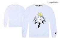 공장 가격 새로운 긴 tshirt 남자 trukfit 사랑 100 % 코 튼 힙합 tshirt 핫 판매 인쇄 도매 가격
