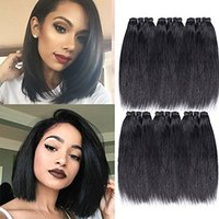 Wholesale Price 6 Bundles Straight Human Hair Brazilian Hair...