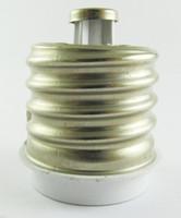 500 stks E40 Mannelijk naar E27 Vrouwelijke Socket Base LED Halogeen CFL Gloeilamp Lamp Adapter