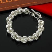 Fabbrica diretta all'ingrosso argento 925 Olive Jewelry Bead braccialetto d'argento