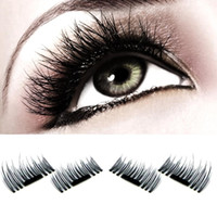 Magnetic Eye Lashes 3D Mink 1pcs=4pair Natural Eye Lashes Re...