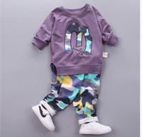 Baby Boy Autumn Clothes Girl Letter M Warm Cotton Clothing S...