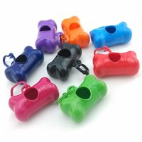 Hot Sale 10 Pcs Pet Dog Bone Style Case for Poop Waste Bags ...