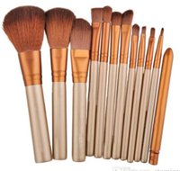 NAKED35 7 Ensemble de pinceaux de maquillage 12pcs Ensemble de pinceau professionnel N3 Make Maquiagem Beauté Eye FaceTool Power Brush Metal Box Wholesale