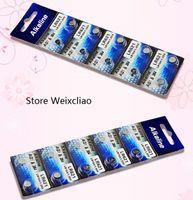 Batterien LR60 LOT AG1 KOSTENLOSER 1 Batterie 364A SR621 LR621 1.55V alkalische Taste CELL 164 Münze 364 500pcs Versand TCGQN