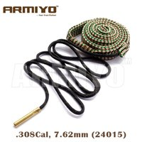 Armiyo Bore Snake Gun Barrel Rope Brush Cleaner Охотничья винтовка 7.62mm .308 30-30 .30-06 .300 .303 Cal 24015 Bagged Package