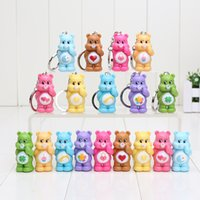 4. 5cm Cute Care Bear PVC Action Figure Collectable Model Toy...