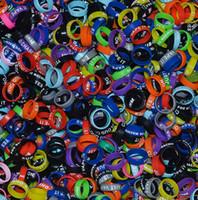 Freies Tropfen-Verschiffen 500pcs Silikon-Anti-Rutsch-Ring Vape Mod Ring für mechanischen Mod RDA RTA RBA und Glas-Behälter 22mm Art und Weise Dekorative Band