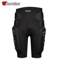 Respirável Motocross Knee Protector Motorcycle Armadura Shorts Skating Extreme Sport equipamentos de proteção Pants Hip Pad