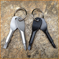 2pcs set Multifunctional Pocket Tool Outdoor EDC Gear With S...