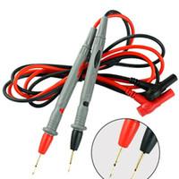 디지털 멀티 미터 바늘 팁 미터 와이어 펜 케이블 10A에 대한 20 쌍 멀티 미터 테스터 리드 프로브 핀