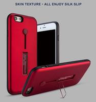 الأصلي الهجين درع القضية مع مسنده ل iPhone X XR / Xs / Xs Max PC + غطاء سيليكون لسامسونج غالاكسي S9-S8-S7 Plus Note9 / 8/7