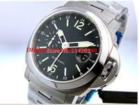 Relojes de lujo Pulsera de acero inoxidable 44mm 00297 27 Relojes para hombre Movimiento automático Relojes de relojes de hombre