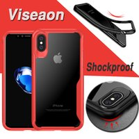 Shockproof Dirt- resistant Soft TPU+ PC Transparent Hard Cover...