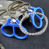 Portable Wire Saw Practical Emergency Survival Gear Steel Th...