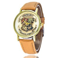 Wristwatches Men' s Women' s Hogwarts Shield Fashion...