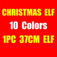 2017 10 Style Christmas Elf Doll Plush toys Elves Xmas dolls...