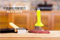 Gratis losse vleesbenemende naald naald hamstring mes steak losse vlees is losse vlees hamer roestvrij stalen vlees hamer geraakt keukengerei