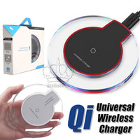 Qi Crystal Wireless Charger Universal Charging pad for iPhon...