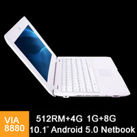 1X 10. 1 inch Mini laptop VIA8880 Netbook Android 5. 0 laptops...