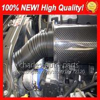 La fibra de carbono del filtro de aire frío KRICNG inducción de la alimentación Kit completo 100% del nuevo coche universal entradas de aire de fibra de carbono Filtros de aire kit de envío gratuito