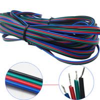 1m 2m 3m 4m 5m 10m 20m 50m 4 Pin 5 Pin Kanäle LED RGB Kabel für 5050 3528 LED RGBW Streifenverlängerung Verlängerungskabel Anschluss