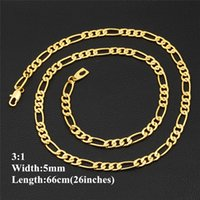 "5 mm 26"" 66cm High Quality Men Hip Hop Long Link Chain ..."