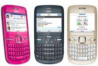 Nokia originale rinnovata Nokia C3-00 Telefono cellulare sbloccato QWERTY Keyboard 2MP Fotocamera WiFi 2G GSM900 / 1800/1900