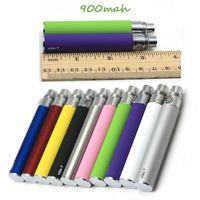 Batteria ego t Batteria eGo-t Vape batteria 510 filo 650/900 / 1100mAh 10 colori Fit H2 MT3 CE4 CE5 Atomizzatore Clearomizer Vaporizzatore