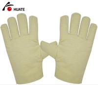 HUATE Brand canvas Gloves ، سميكة ، مزدوجة ، غير قابلة للانزلاق ، حماية عمليات المناولة ، منتجات تأمين العمال ، 10 أزواج ، واقي