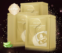 Hot New PILATEN Crystal Collagen Powder Eye Mask Elimina i cerchi scuri Gold Gel Mask Eye Care