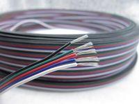 LED RGB 케이블 5Pin 1m 2m 3m 4m 5m 10m 20m 50m 5 핀 채널 LED RGB 케이블 5050 3528 LED RGBW 스트립 연장 연장 와이어 코드 커넥터