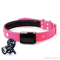 USB Rechargeable Pet Collar LED Flashing Adjustable Safety D...