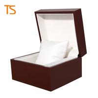 Заводская оптовая торговля фирменный дизайн на заказ логотип чехол подарок ювелирные изделия Box браслет браслет дисплей часы коробка хранения чехол подушка