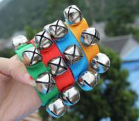 New Carnival Party Noise Maker braccialetti wristband Percussioni campane baby Educazione Giocattoli danza campanelli sonaglio per adulti bambini puntelli di festa