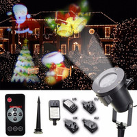Holiday Decoration Christmas LED Rotating Projector Lamp 12 ...