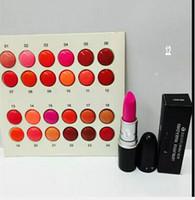 Envio Grátis! Nova maquiagem batom 3g 24 cores (24 pcs / lote)