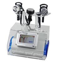 다기능 진공 캐비테이션 RF 초음파 지방 흡입 캐비테이션 슬리밍 기계 얼굴 및 바디 트리트먼트에 대 한 다극적 인 RF