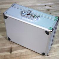 화장품 상자 포장 암호 잠금 toolcase 알루미늄 합금 프레임 가방 가방 여행 가방 도구 상자 악기 케이스 의학 장비