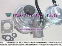 RHF3 CK40 1G491-17011 1G491-17012 Turbocompressore turbo 1G491-17010 per escavatore Kubota PC56-7 motocoltivatore 4D87 V2403-M-T-Z3B