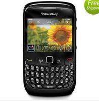 Оригинальный Blackberry 8520 2.46 дюймов 2MP QWERTY клавиатура WIFI 2G GSM отремонтированный разблокированный мобильный телефон