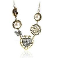 Nuova catena maglione all'ingrosso della collana della perla dell'arco della pesca dolce di lusso retro dei monili